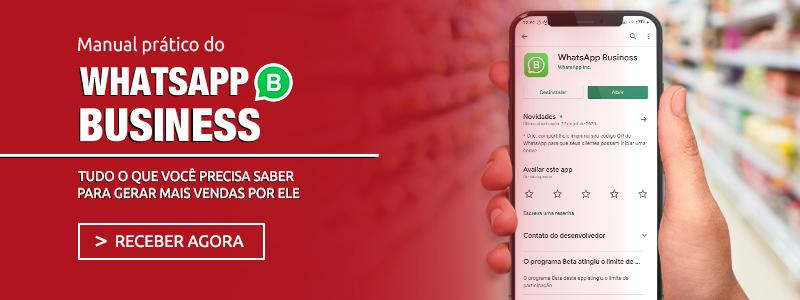 Manual Gratuito do WhatsApp Business para sua loja