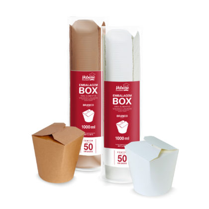 Embalagem box delivery Vabene