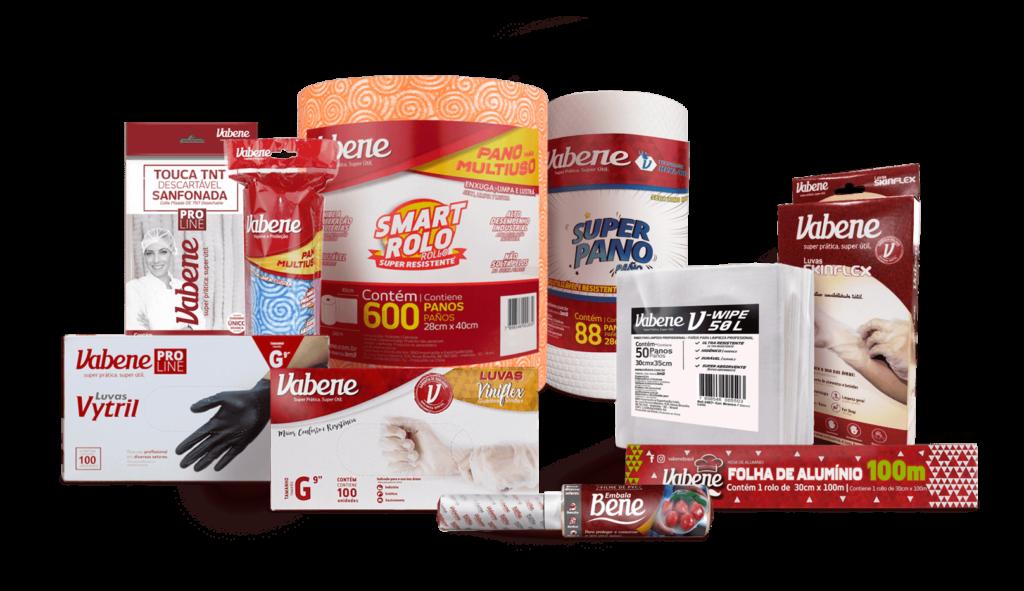 Mix produtos Vabene